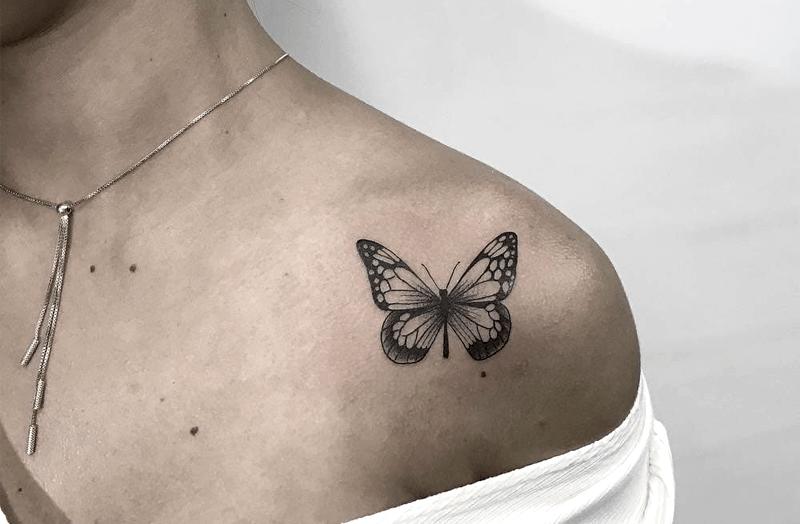significado de tatuajes de mariposas