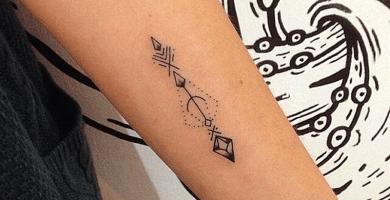 significado de los tatuajes de flechas