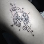 significado de los tatuajes de flechas con relojes