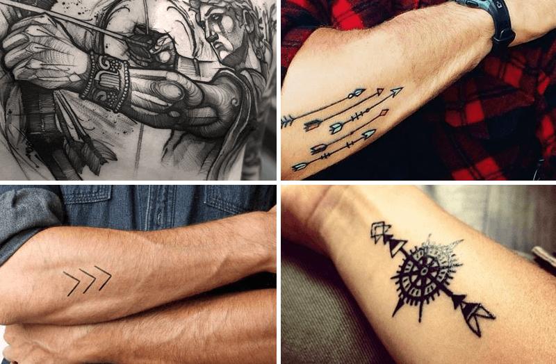significado de los tatuajes de flechas para hombres