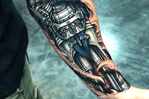 significado de los tatuajes biomecanicos o cyborg
