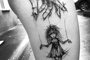 significado de los tatuajes estilo bosquejo