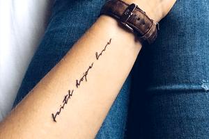 tatuajes de frases con significado