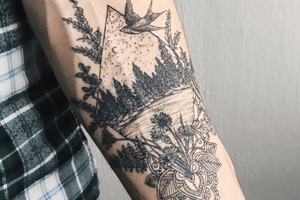 significados de los tatuajes de paisajes