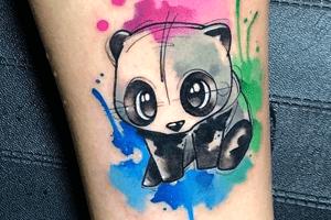 significado de los tatuajes estilo acuarela