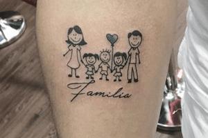 ideas de tatuajes familiares