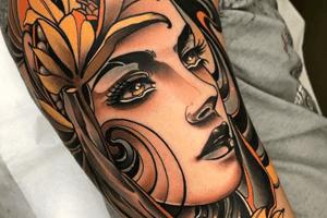 significado de los tatuajes neo tradicional