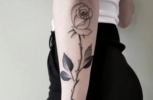 significado de los tatuajes de rosas