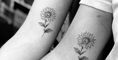 significado de los tatuajes de flor de girasol