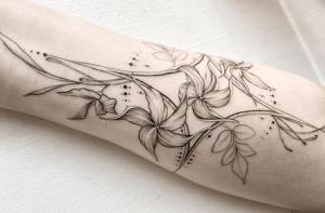 significado de los tatuajes de flores de jazmín