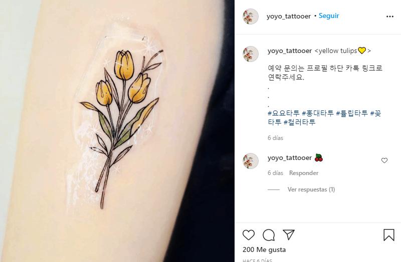 significado de los tulipanes amarillos